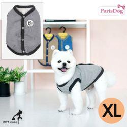 패리스독 에브리데이 퀼팅 베스트 (그레이) (XL)