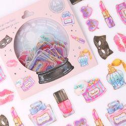 (인디고샵)[금박] 언니의 화장대 요술램프 스티커팩