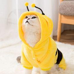 애니멀 파자마 올인원 꿀벌