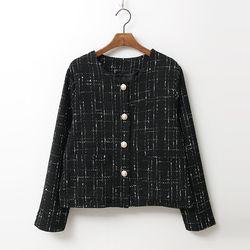 N Tweed Pearl Jacket