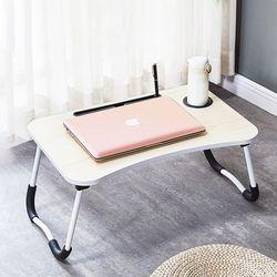 상상공간 접이식 침대테이블 베드트레이 침대책상