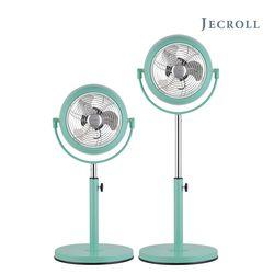 레트로 메탈 스탠드 선풍기 3단바람풍향 JK-C07SFRG