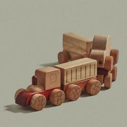 장난감자동차-기차 놀이세트