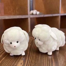 몽글몽글 양인형 리얼양모 미니 장식소품