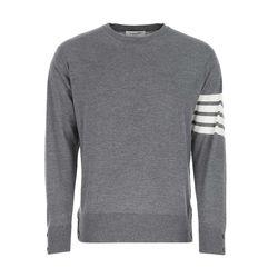 21SS 톰브라운 스웨터 니트/그레이 MKA002A00014 038