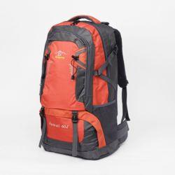 팀에이스 방수 대형 등산가방(60L) (오렌지)