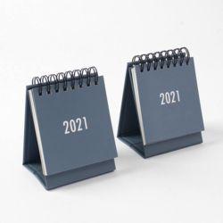 2021년 미니 탁상 캘린더 2p세트(그레이)