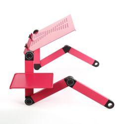 관절접이 노트북 테이블(48x26cm)(핑크)