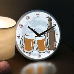ng495-LED시계액자25R초밥과맥주