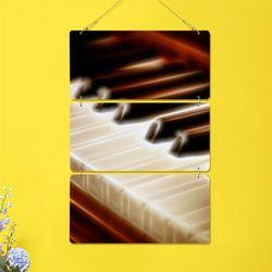 nn236-멀티아크릴액자빛나는피아노(3단)