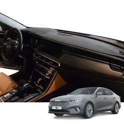 K 기아 K7 프리미어 매트 카본 자동차 대쉬보드 커버 DashK01