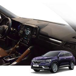 K 르노 QM6 매트 카본 자동차 대쉬보드 커버 DashR01