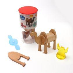 (레키드) LK5711 파우나 자석 블록 낙타