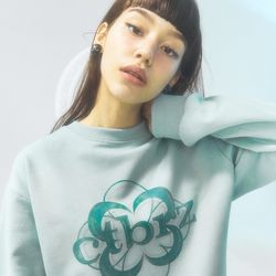 [CITY] Stone Flower Symbolic Sweatshrits[MINT](CTD1)