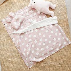어린이집 낮잠이불 세트(패드+베개+블랭킷) 입소준비물
