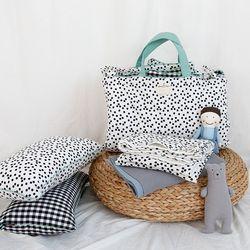 어린이집 낮잠이불 패드 단품 양면디자인 민트