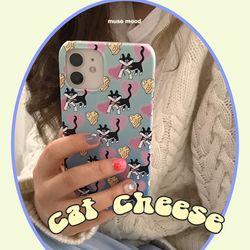 cat cheese 아이폰케이스