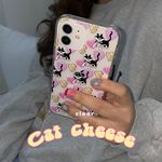 cat cheese (clear) 아이폰케이스