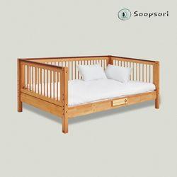 [숲소리] 스토리 데이베드 (한쪽가드형) 침대