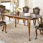 명품 수입가구 고급 브랜 6인 1600 엔틱식탁 테이블