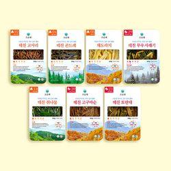 오름채 데친 가정식 나물  7종