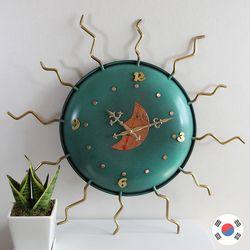 태양 동공예품 대형 벽시계 SBC-113