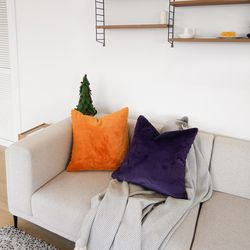 eco fur cushion