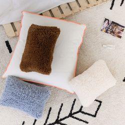 mini eco lamb cushion(솜포함)