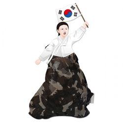 컬러룬 유관순 만들기 (10인용)
