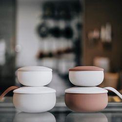 Besovida 실리콘 그릇 - 트리플세트