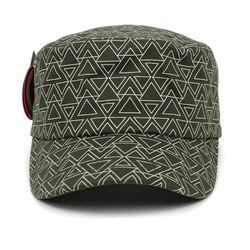 밀리터리 03 라인 트라이엥글 군모 모자