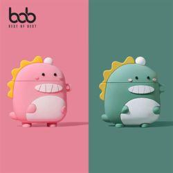 bob 에어팟전용 보글보글 공룡 3D 실리콘 케이스