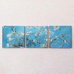 명화포토패널 [명화뜨레스] 반 고흐-꽃피는 아몬드 나무