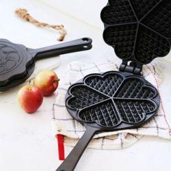 리빙핀 와플팬 와플 기계 메이커 반죽 가정용 베이킹