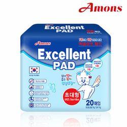 아몬스 애견 엑셀런트 패드 초대형(20매X6개)