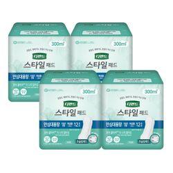 디펜드 스타일 패드 초슬림 안심 대용량 12입X4팩
