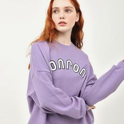ARCH LOGO SWEATSHIRT PURPLE