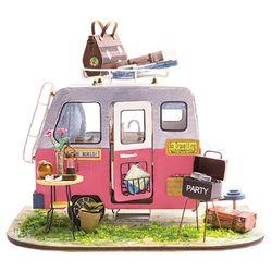 DIY 미니어처 하우스 (난의도 중.상) -DGM드림 캠핑카
