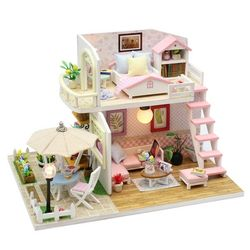 DIY 미니어처 하우스 (난의도 중) -M033테라스 2층집