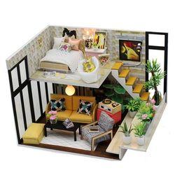 DIY 미니어처 하우스 (난의도 중) -M031가드닝 2층집