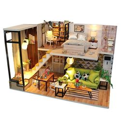 DIY 미니어처 하우스 (난의도 중.상) -M030풀 하우스