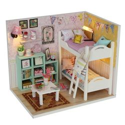 DIY 미니어처 하우스 (입문자용) -M020가랜드 2층 침대