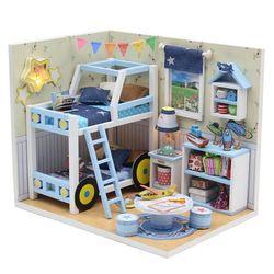 DIY 미니어처 하우스 (입문자용) -M019자동차 2층침대