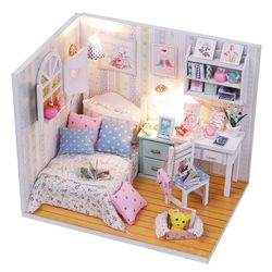 DIY 미니어처 하우스 (입문자용) -M013꿈 스위트
