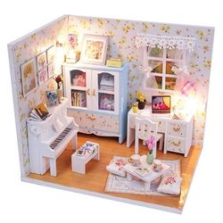 DIY 미니어처 하우스 (입문자용) -M011피아노 뮤즈