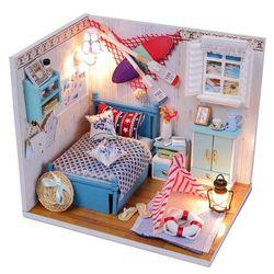 DIY 미니어처 하우스 (입문자용) -M010카누 휴양지