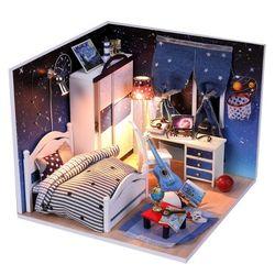 DIY 미니어처 하우스 (입문자용) -M008우주별 침실