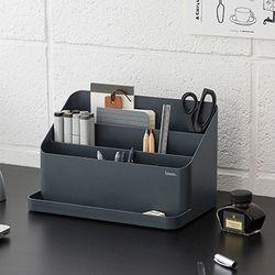 사무실책상꾸미기 데스크테리어 책상정리함
