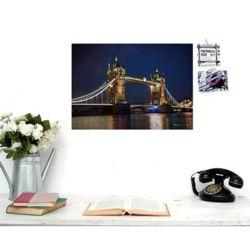 봉쥬르 파리웰컴투 런던 포토그래픽 포스터 - A2