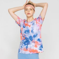 DURAN 수채화 물나염 티셔츠 DTF1S-3014 2colors